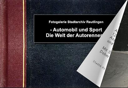 Fotobuch Automobil und Sport - Die Welt der Autorennen - Bitte klicken, um das Album zu öffnen