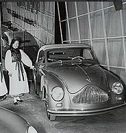 Automobilausstellung 1950