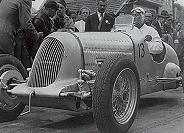 Bugatti 51 A mit Monoposto-Karosserie