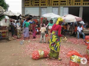 Großmarkt in Bouaké