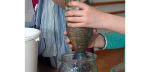 Kindergarten - forschendes Lernen (Wasserfilter)