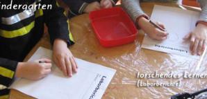 Kindergarten - forschendes Lernen (Laborberichte)