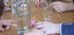 Kindergarten - forschendes Lernen (selbstgebaute Vergrößerungsgeräte)