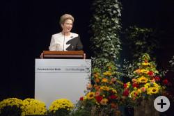 Oberbürgermeisterin Barbara Bosch beim Fest für Engagierte