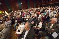 Viele ehrenamtlich Tätige folgten der Einladung zum Fest für Engagierte