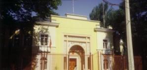 Gebäude in Duschanbe