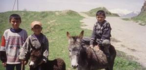 Kinder aus Duschanbe