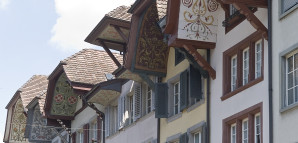 Dachgiebel in Aarau (Quelle: www.aarau.info)