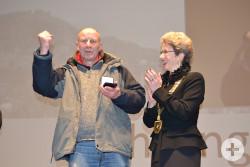 Oberbürgermeisterin Barbara Bosch und Max Herfert