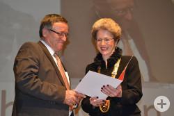 Oberbürgermeisterin Barbara Bosch und Dr. Adnan Özfirat