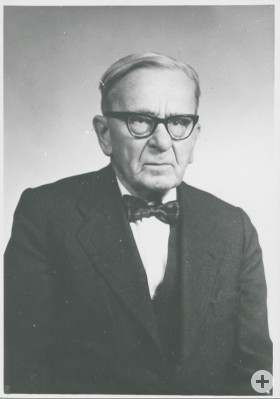 Porträtfoto Dr. Max Weinhardt, 1968