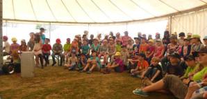 Im Zirkuszelt werden den Kindern wichtige Informationen vermittelt