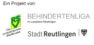 Ein Projekt von RSV, Behindertenliga im Landkreis Reutlingen und der Stadt Reutlingen