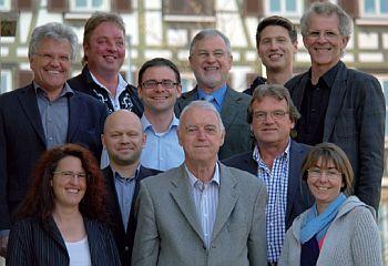 Kandidatinnen und Kandidaten der Wählervereinigung Rommelsbach