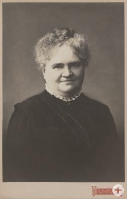 Porträt der Stifterin Hedwig Emilie Laiblin, geb. Fleischhauer (1849 – 1920)   StadtA Rt., S 100 Nr. 11.725/12