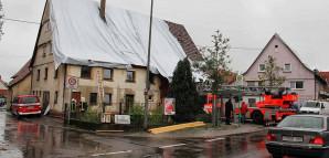 Hagelsturm am 28. Juli 2014