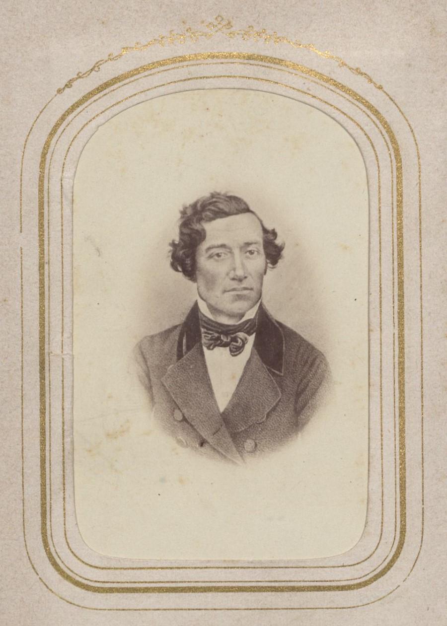 Im Nachlass von Johannes Kurtz findet sich auch eine seltene Fotografie des jungen Gustav Werner.