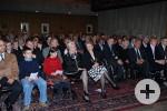Verleihung der Bürgermedaille an Margret Grimm im Foyer des Rathauses