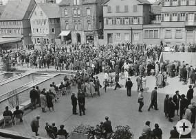 Am kompletten Wochenende der Rathauseinweihungsfeier war die Bürgerschaft eingeladen, den neuen Verwaltungssitz zu inspizieren.