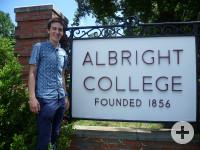 Mirko: Sommerkurs am Albright College in Reading