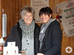 Gäste aus Pirna auf dem Reutlinger Weihnachtsmarkt