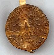 Das Siegel aus der Reutlinger Friedensordnung um 1300