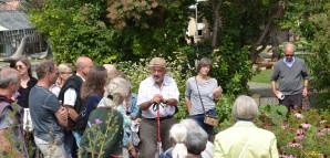 Führung im Apothekergarten mit Apotheker Dr. Christoph Höltzel