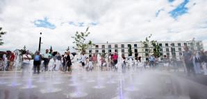 Besuchermagnet Wasserspiele