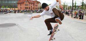 Skater in Aktion
