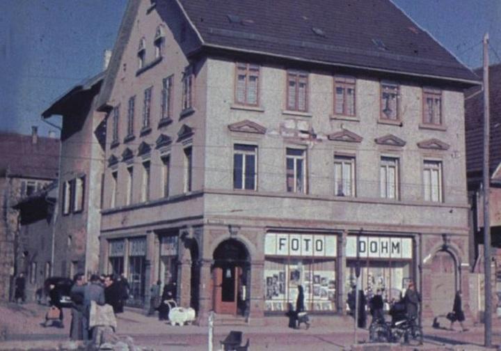 Fotohaus Dohm um 1947