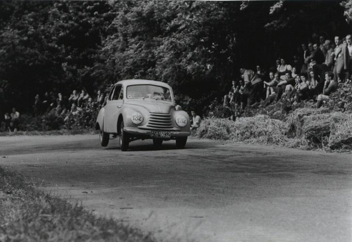 DKW bei Achalm-Bergrennen