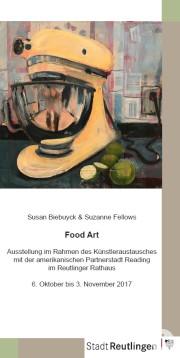 """Einladung zur Ausstellung """"Food Art"""""""