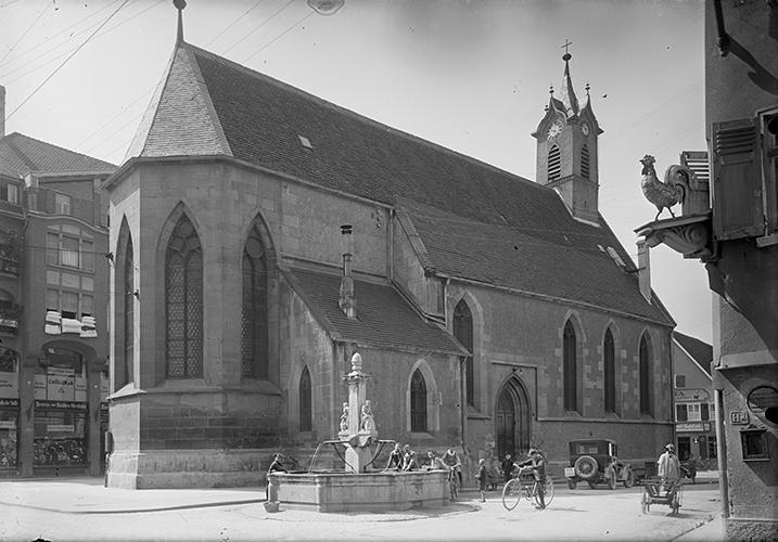 Nikolaikirche und Gerberbrunnen