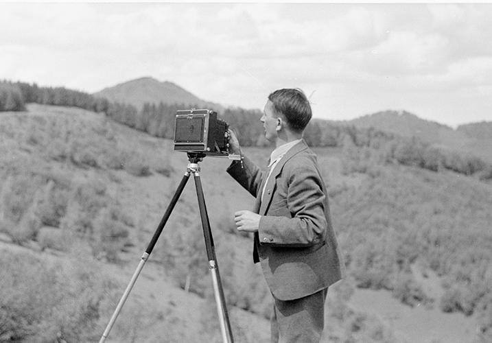 Carl Näher im Schwarzwald