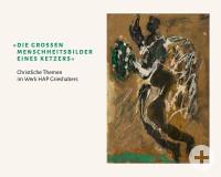 Katalogeinband Grieshaber - Menschheitsbilder