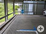 3 Behindertenparkplätze im Parkhaus Obere Wässere