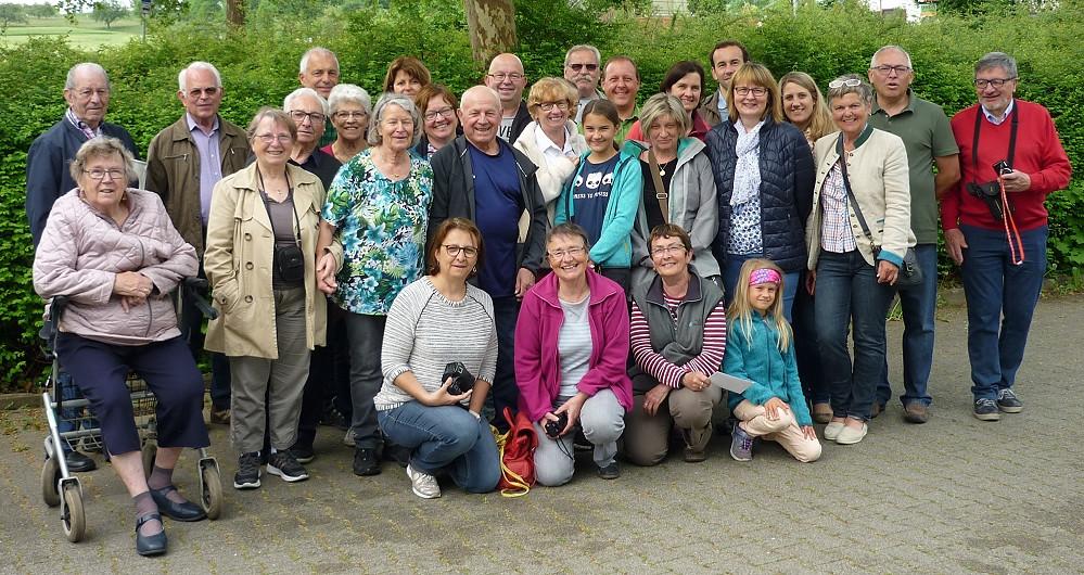 Roanner Wanderfreunde zu Besuch beim Schwäbischen Albverein Oferdingen