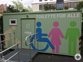 Mobile Toilette für Alle