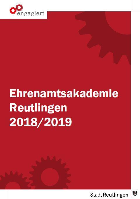 Einsam war gestern - das Programm 2018/2019 der Ehrenamtsakademie ist da