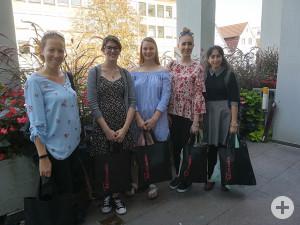 """Teilnehmer des Sprachkurses """"Deutsche Sprache und Kultur"""""""