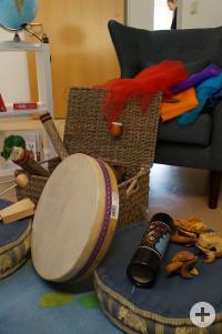 Durch Spenden finanzierte Musikinstrumente