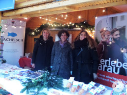 Aarau präsentiert sich auf dem Reutlinger Weihnachtsmarkt