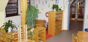 Bauecke im Kindergarten Weingärtnerstraße
