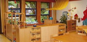 Innenbereich des Kindergartens Weingärtnerstraße