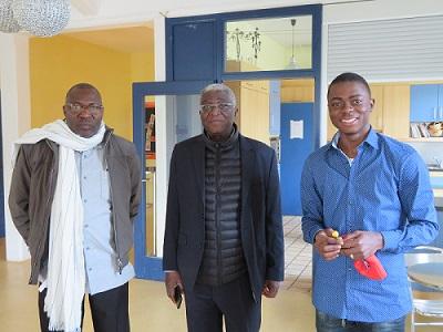 Arbeitsbesuch aus Bouaké im Jugendhaus Ariba