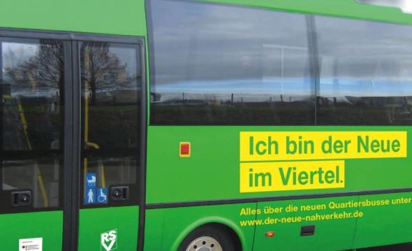 Bild eines Quartierbusses
