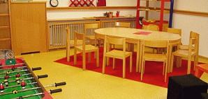 Gruppenraum im Kinderhaus Planie 30