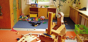 Bauecke im Kinderhaus Planie 30