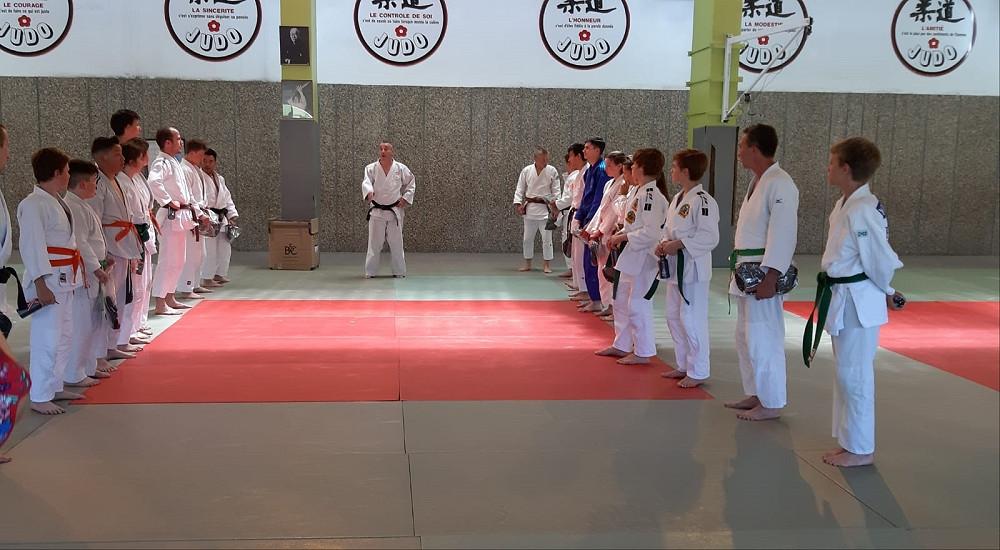 Judoabteilung des PSV RT in Roanne