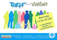 Plakat Treffpunkt Vielfalt
